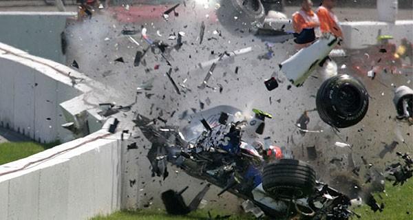 Canada 2007 crash de Kubica