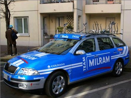 Milram Skoda Octavia combi