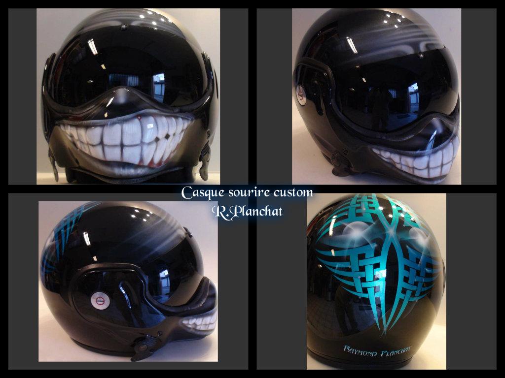 casque moto smile