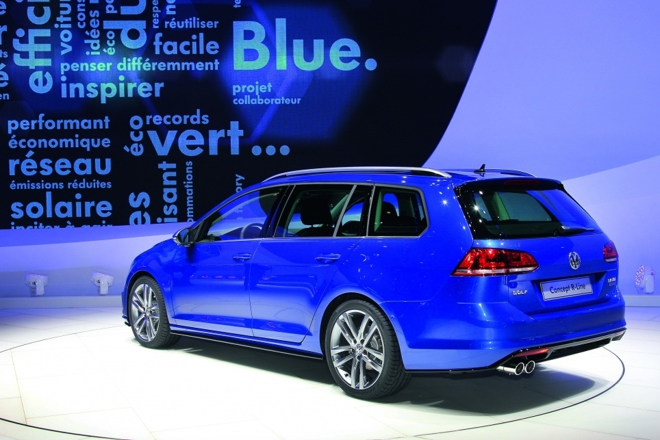 Golf VII Estate R Line arriere