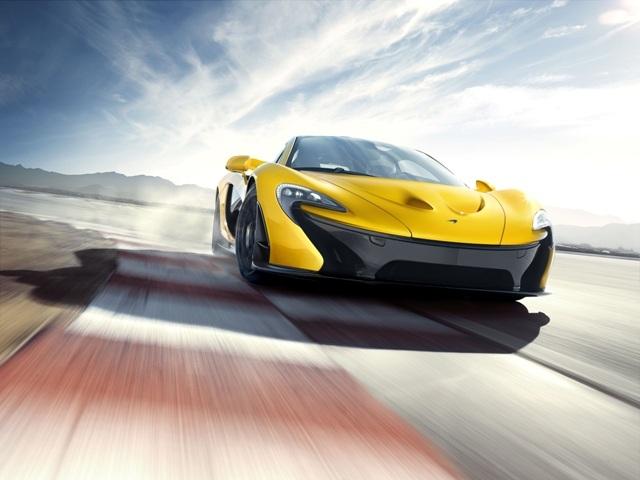 McLaren P1 : 300 km/h en 16,5 secondes