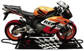 bequille atelier moto