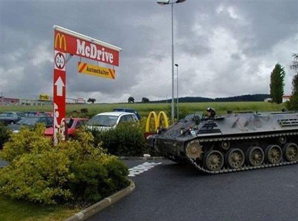 Tank McDrive