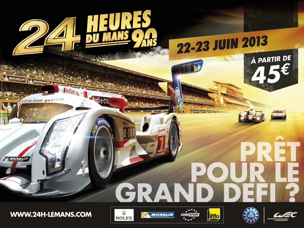 24 heures du mans 2013 des festivit s pour ses 90 ans. Black Bedroom Furniture Sets. Home Design Ideas