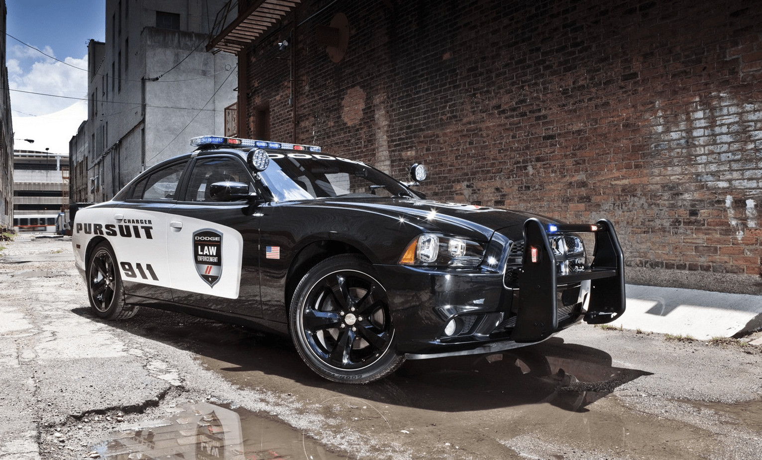 Dodge Charger AWD police americaine