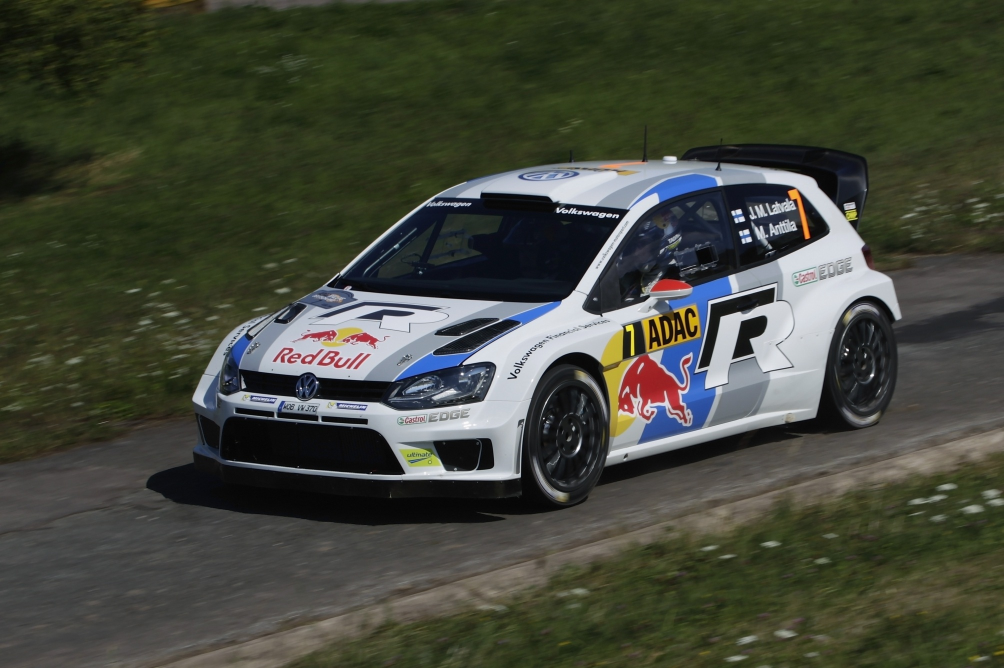Sebastien Ogier Polo R WRC photo