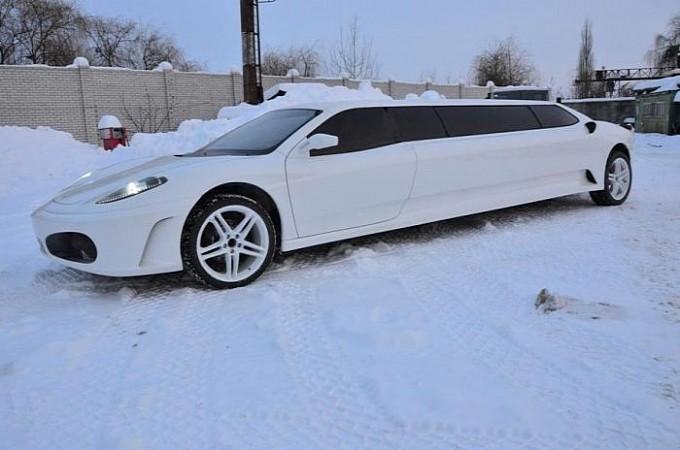 peugeot 406 coupé transformée en ferrari limousine