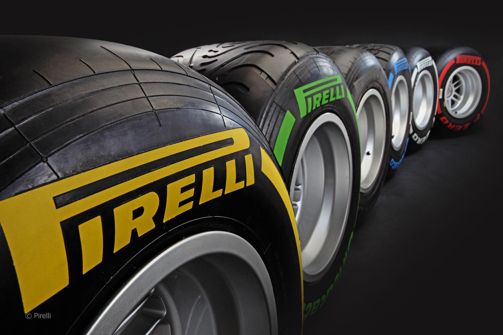 2013 f1 pirelli pneus