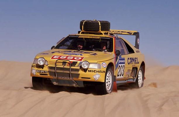 405 Camel turbo 16 du Dakar 1990