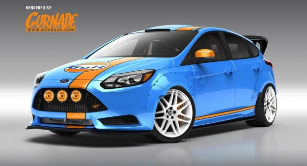 Ford Focus SEMA concepts UTI de Rallye