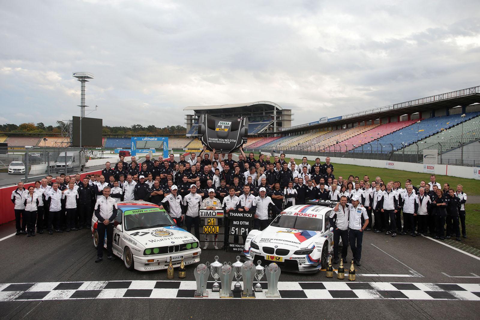 bmw champion des constructeurs en DTM
