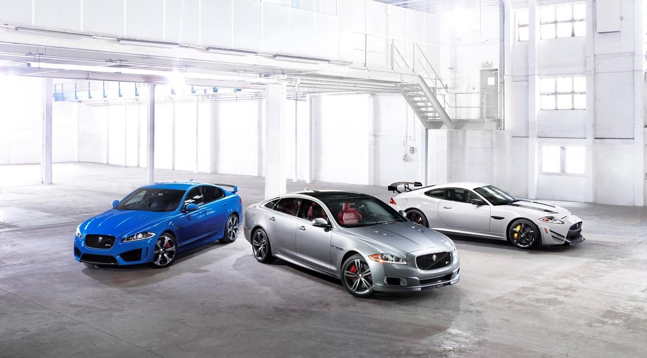 jaguar XFR-S, XJR, XKR-S GT