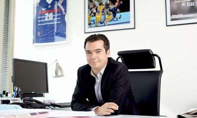 Cyril Linette patron des sports du groupe Canal+. © Canal+