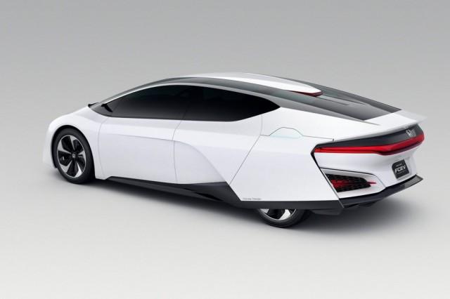 Honda FCEV vue arrière