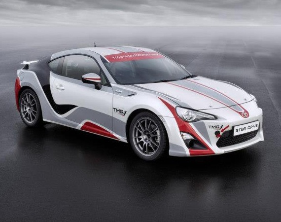 Toyota GT86 CS R3 Rally Car