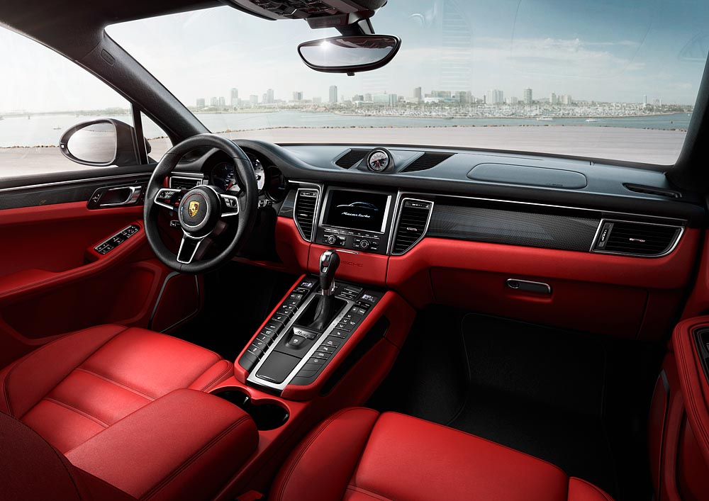 Interieur Porsche Macan Turbo
