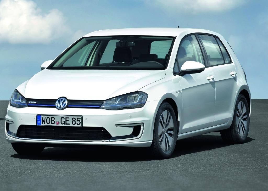 Volkswagen E-Golf aux Etats Unis