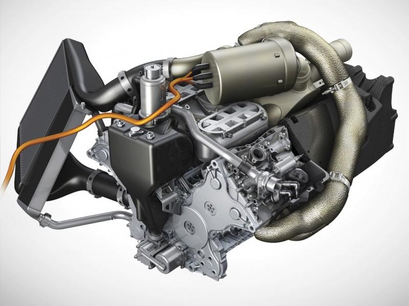 2014 Porsche 919 Hybrid Le Moteur