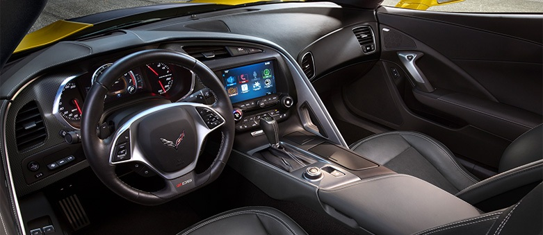 corvette Z06 interieur