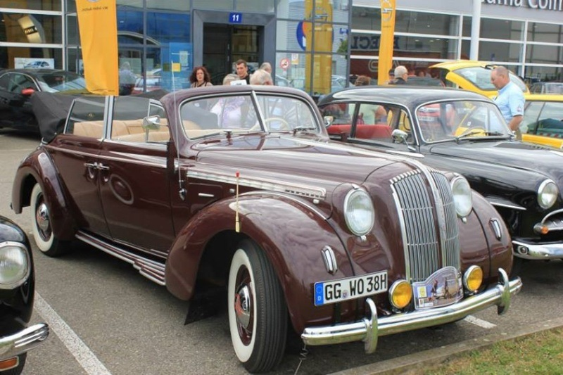 Admirable Opel Admiral découvrable