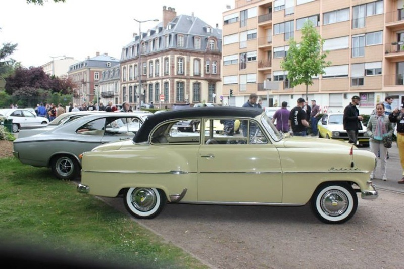 Rarissime Opel Rekord découvrable