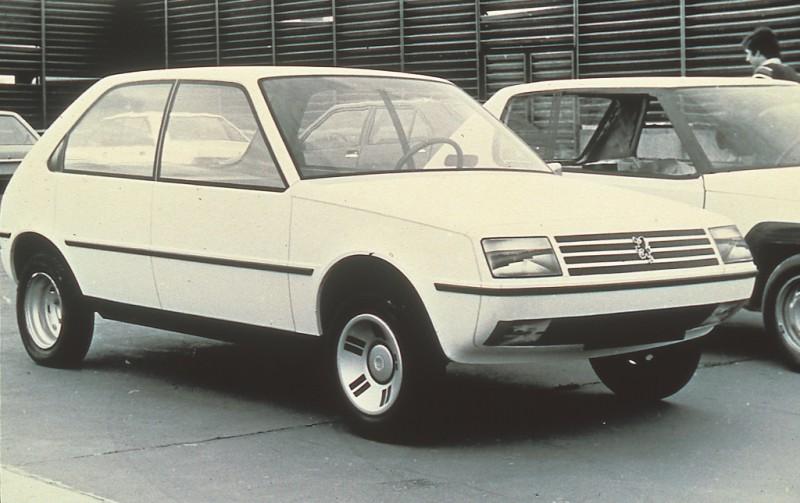 Maquette 205 1977
