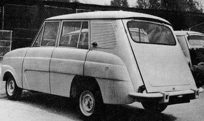 Premier prototype de la 4L