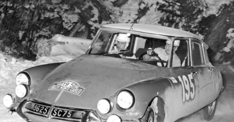 Citroen DS 1966 Rallye Monte Carlo