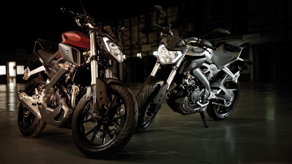 2014 Yamaha MT125 Rouge et noir