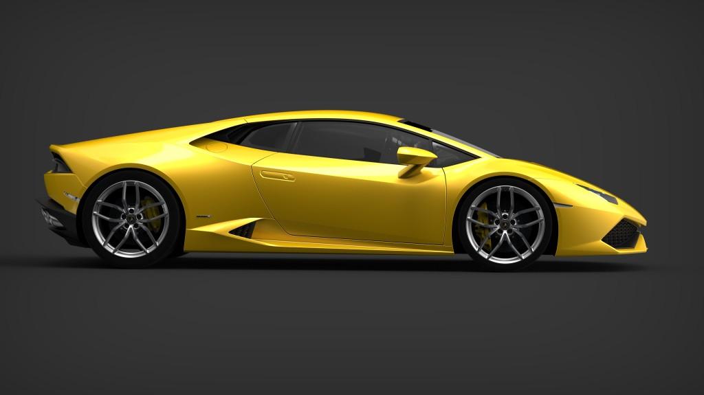 nouvelle Lamborghini Huracán 2014
