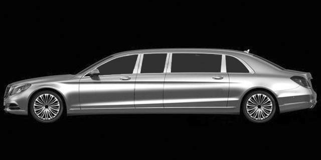 Mercedes Benz Classe-S Pullman