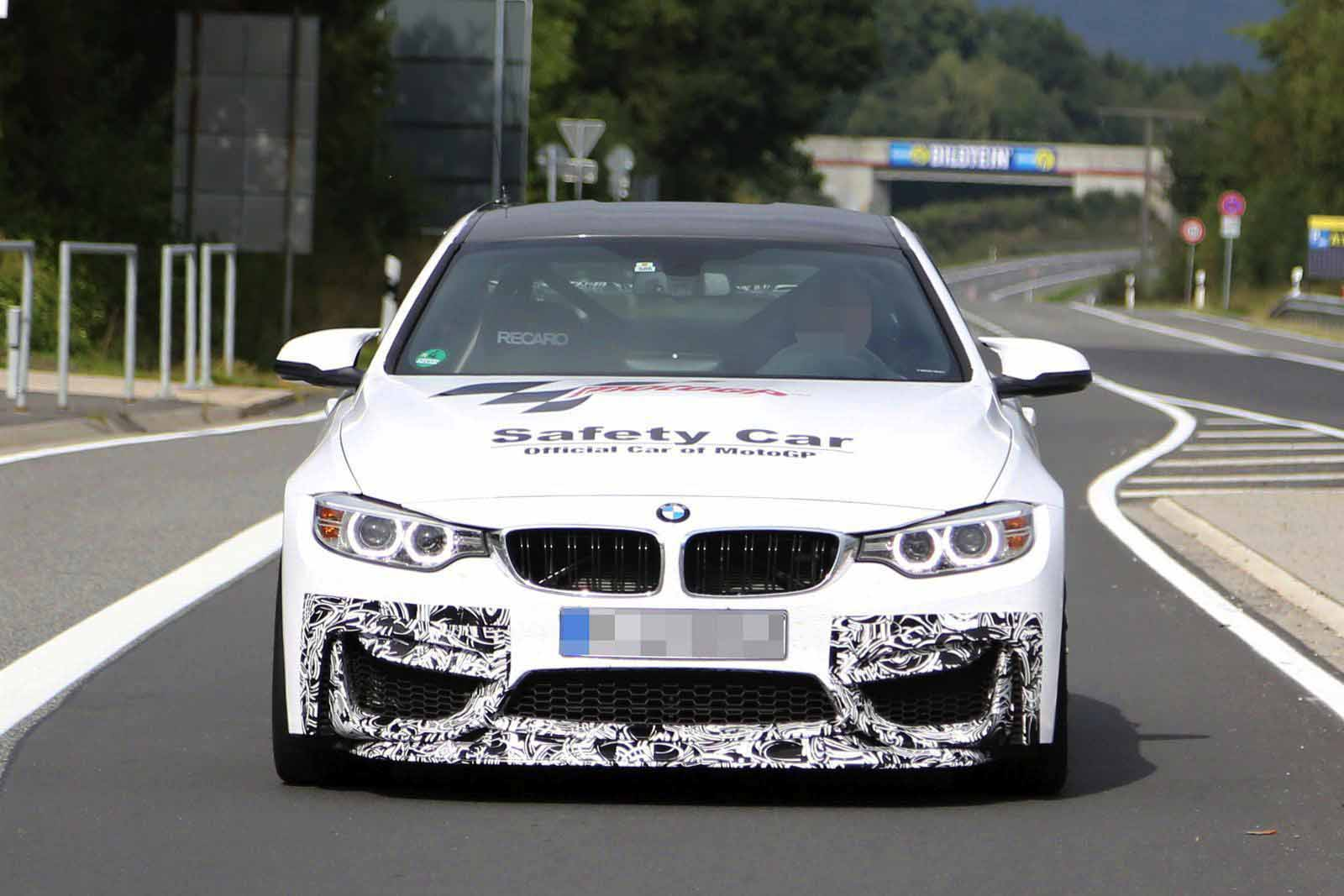 BMW M4 GTS Spy Photos