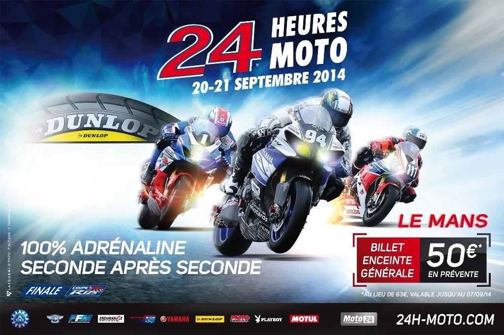 Affiche 24h moto