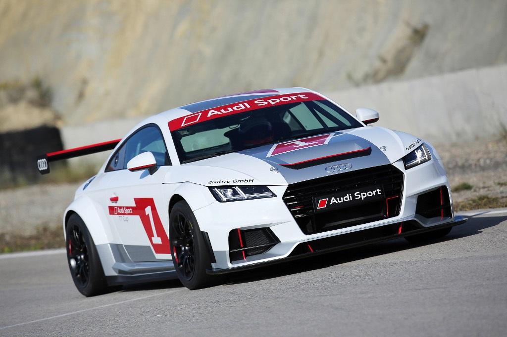 Un Nouveau Bolide De Course Chez Audi L Audi Sport Tt Cup