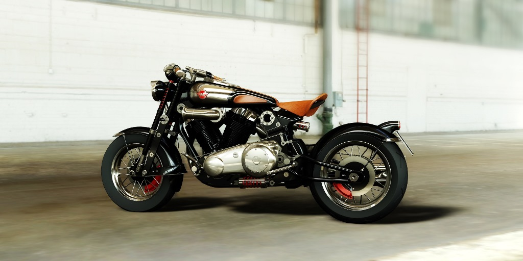 matchless model x reloaded noir