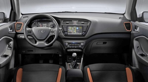 Hyundai l ve le voile sur une nouvelle version de la i20 for Interieur hyundai i20
