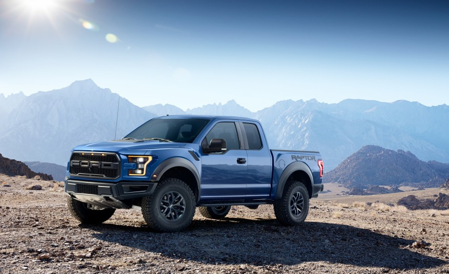 ford f 150 raptor la nouvelle version 2017. Black Bedroom Furniture Sets. Home Design Ideas