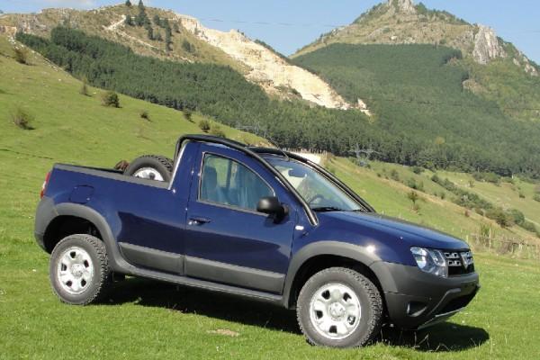 Nouveauté: Le Duster pick-up … en série limitée.
