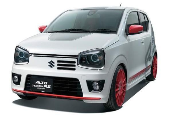 Toute petite, voici la nouvelle Alto RS Turbo de Suzuki.