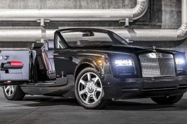 Nouveauté Rolls-Royce : La Phantom Drophead Coupé Nighhawk