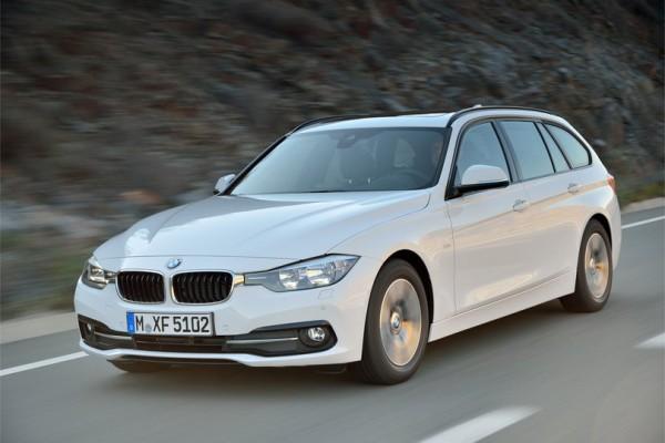 La BMW Série 3 restylée.