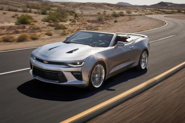 Nouvelle Chevrolet Camaro Cabriolet : pour rouler cheveux au vent.