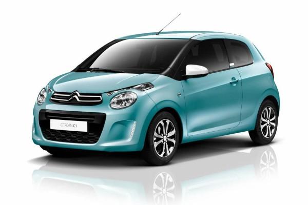 Citroën C1 : toute en couleur et encore plus sure