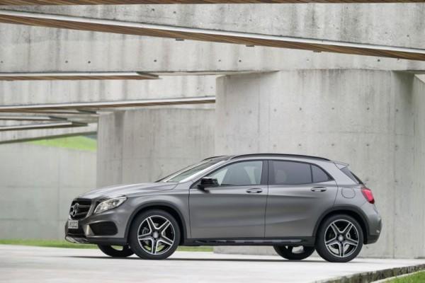 Déjà du neuf pour le GLA de Mercedes