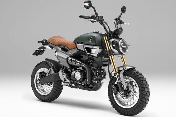 Honda Grom Scrambler : pour débuter la moto