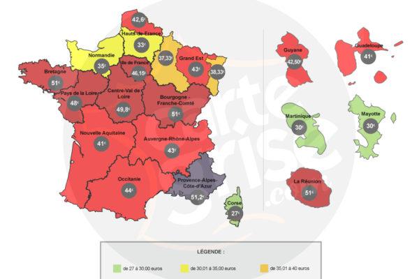 Tarifs des Cartes Grises en 2017: flambée des prix avec la fusion des régions
