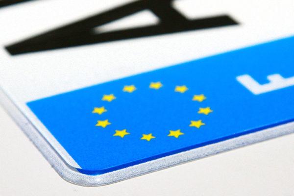 Les plaques d'immatriculation: Quelques points à retenir