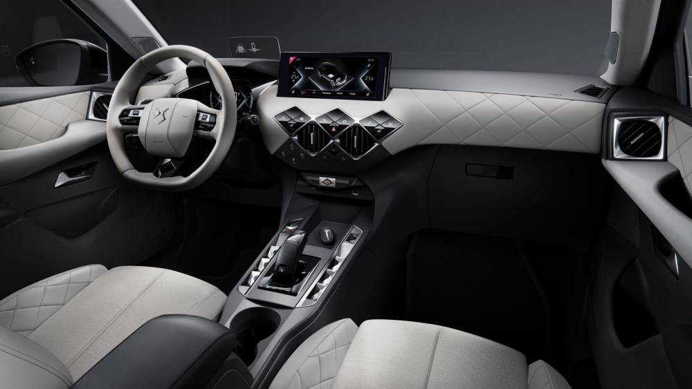 DS 3 Crossback interieur
