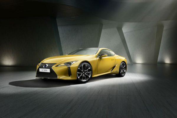 Lexus LC Yellow Edition : Par ici les yeux !