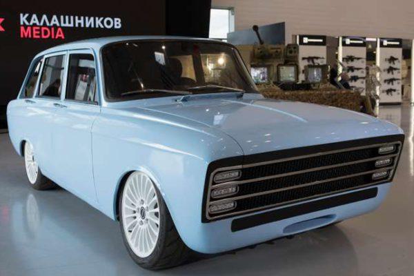 Kalachnikov CV-1, une nouvelle concurrente aux voitures électriques de Tesla ?